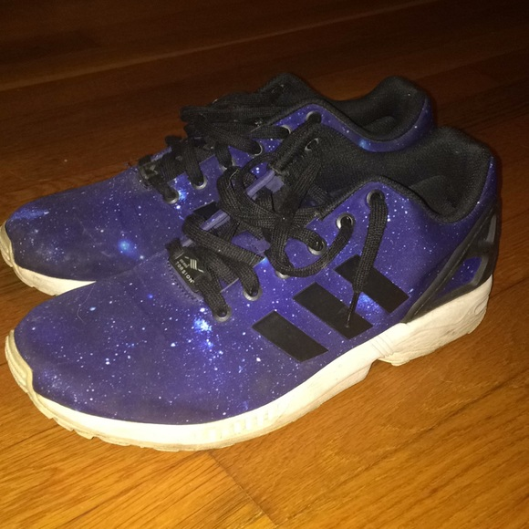 "huge discount 04997 6c75a Adidas Originals ZX Flux ""Galaxy"""